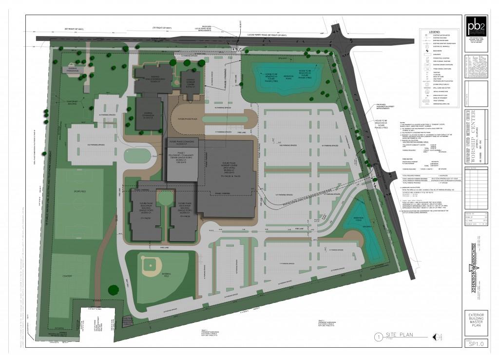 Friendship Methodist Church Master Plan and Site Design, Athens, AL