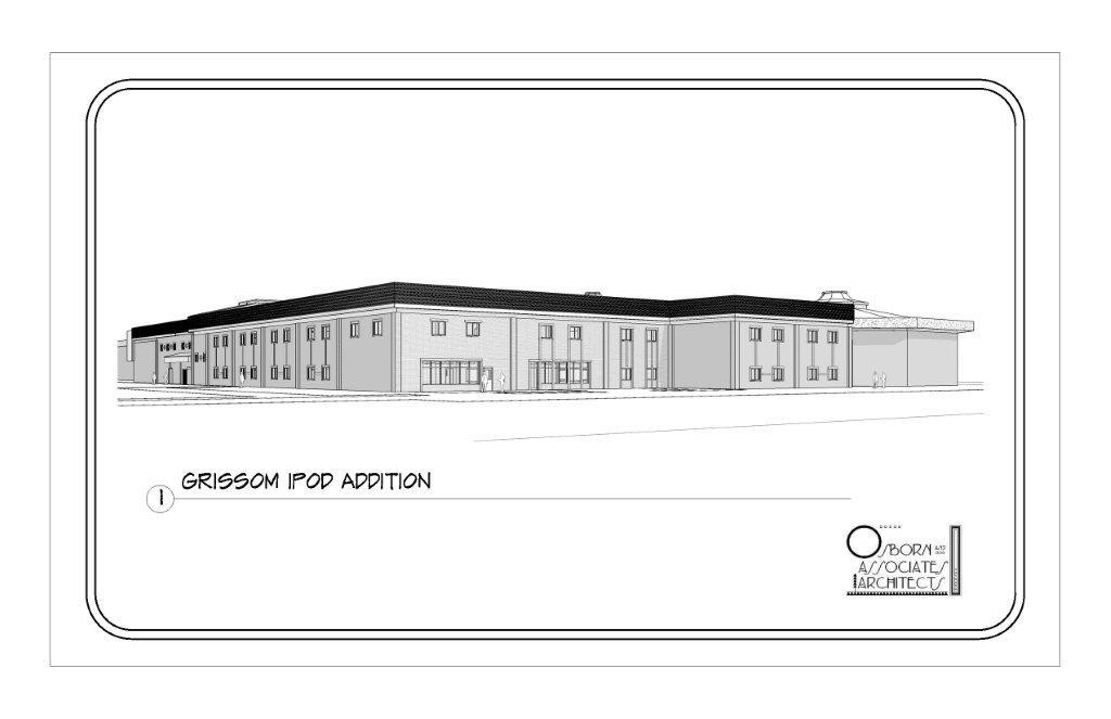 Grissom High School I-Pod Addition, Huntsville, AL